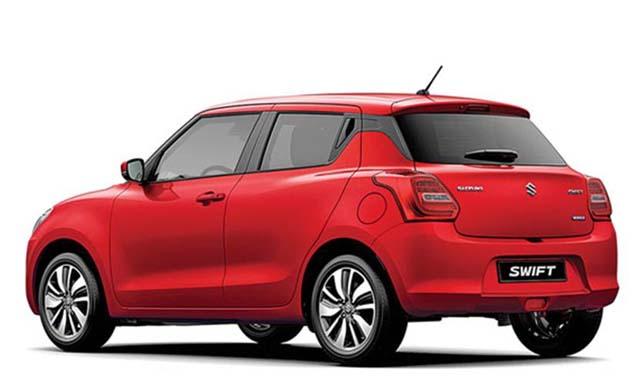 Maruti Suzuki Swift Rear