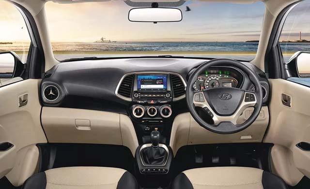 2018 Hyundai Santro Dashboard