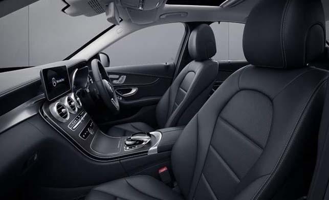 Mercedes C200 Progressive Dashboard