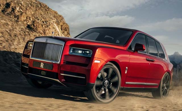 2018 rolls royce cullinan images