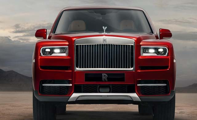 2018 Rolls Royce Cullinan Images