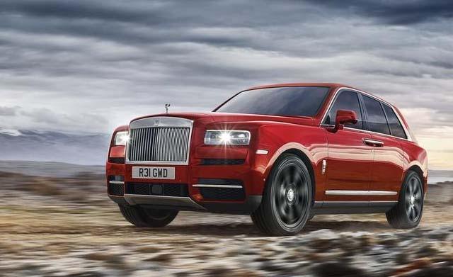 2018 Rolls Royce Cullinan Car Best Photos