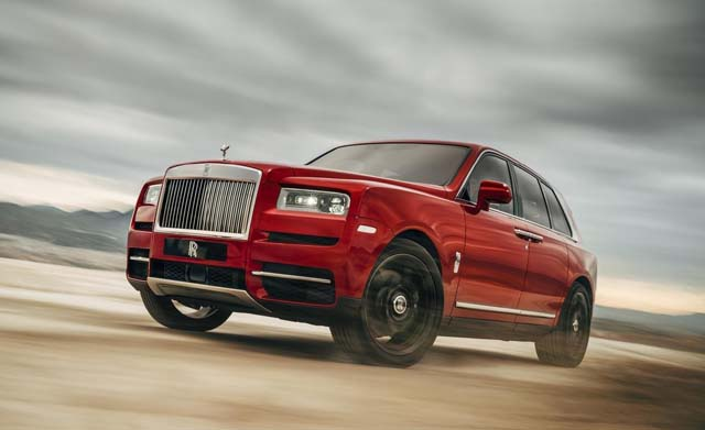 2018 Rolls Royce Cullinan Car Pictures