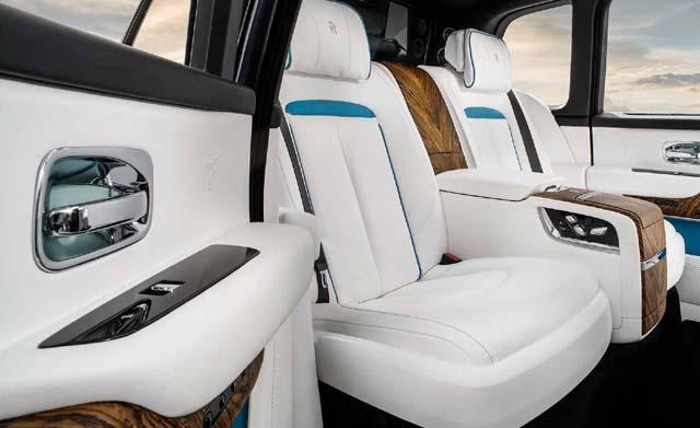 2018 Rolls Royce Cullinan Car Photos Seating 2