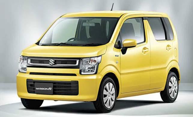 2019 New Wagon R Yellow Colour