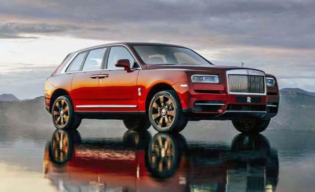 Rolls-Royce Cullinan Sideview