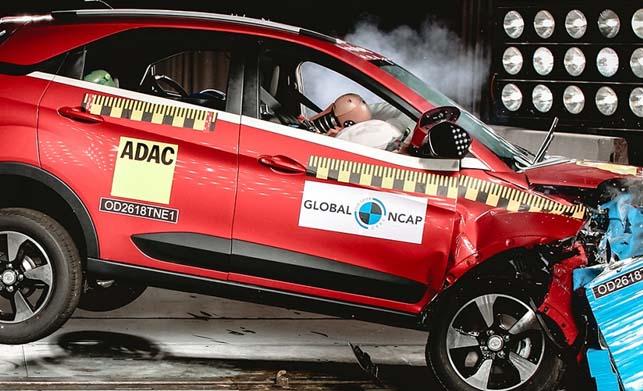 Tata Nexon -Global NCAP Crash Tests