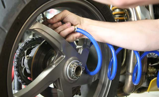 Maintain Motorcycle Tires
