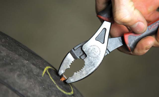 Check & Maintain Bike Tyres