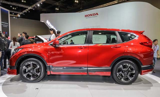 Honda CR-V Mugen Sideview