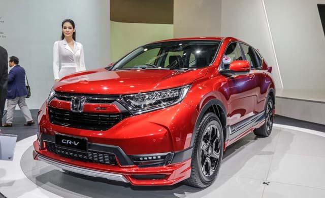 Honda CR-V Mugen Front View