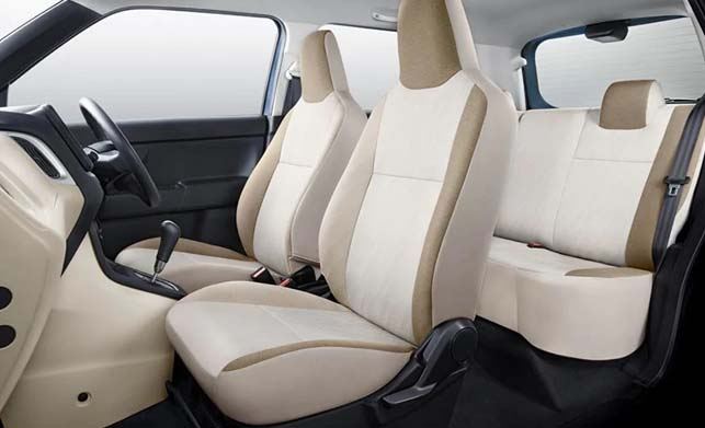 Maruti Suzuki Wagon R 2019 Interior