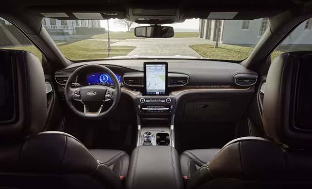 2019 Ford Explorer Dashboard