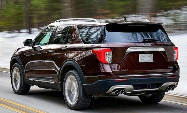2019 Ford Explorer Rear