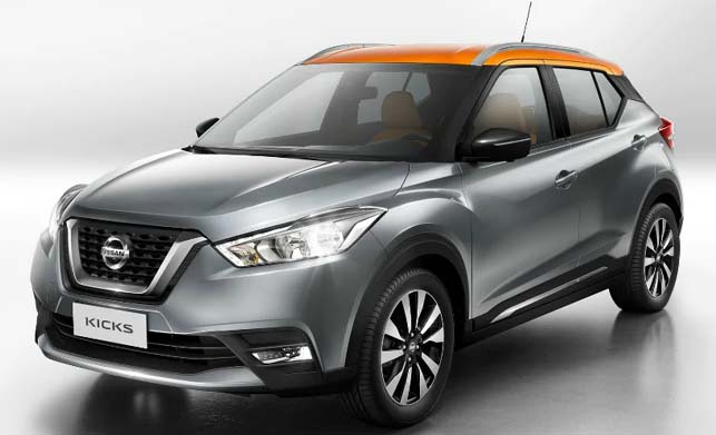 2019 Nissan Kicks Sideview
