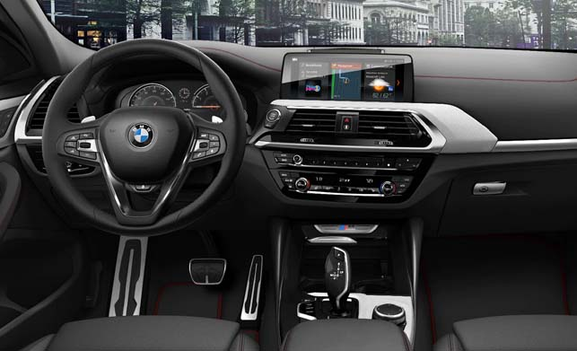 BMW X4 Dashboard