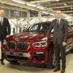 BMW X4 launch