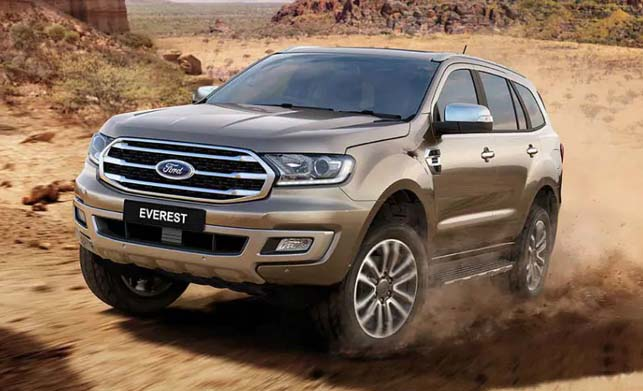 2019 Ford Endeavour Facelift Launch Date Revealed