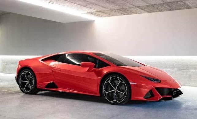 Lamborghini Huracan Evo News in Tamil