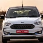 Ford Aspire Titanium Blu Variant Spotted Testing