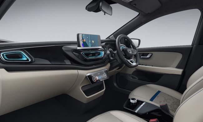 Tata Altroz EV Dashboard