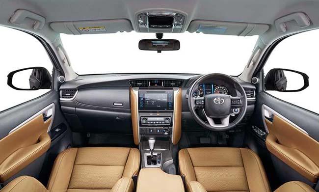 2019 Toyota Fortuner Dashboard