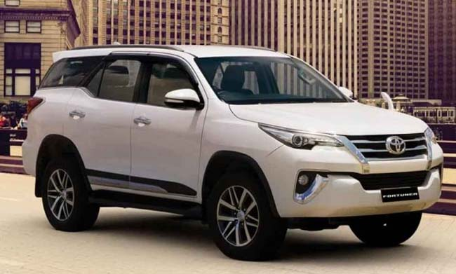 2019 Toyota Fortuner Launched in India