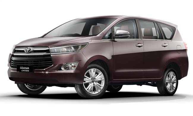 Toyota Innova Crysta Launched in India