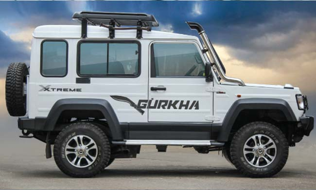 Force Gurkha ABS Launched in India