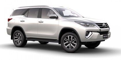 Toyota Fortuner Car On Road Price in Chennai