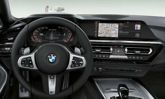 2019 BMW Z4 Roadster Dashboard
